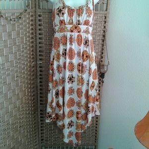Boho summer scarf dress. The cutest dress ever